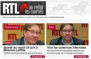 Pronostic RTL : les pronostics des courses hippiques de RTL