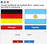 Coupe du Monde de football 2014 : selon vous, qui sera le vainqueur ?