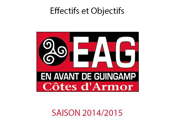 Guingamp Foot : Transfert et objectifs de la saison 2014/2015 - Pronostic & Résultat